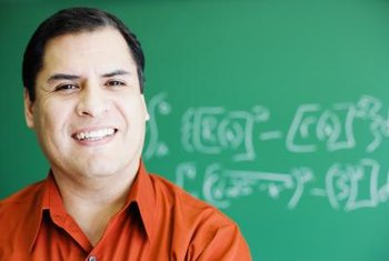 A high school calculus teacher may need a master's degree.