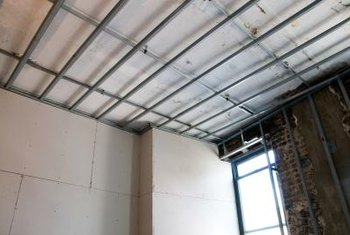 Install the cross-tees according to the size of the ceiling tiles.