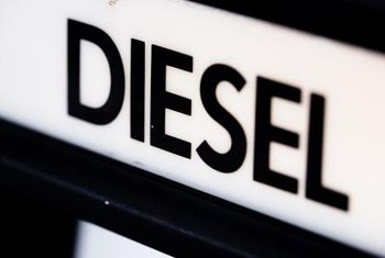 Diesel engines require less fuel than gasoline engines to produce the same power.