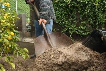Gardeners can sometimes dig their way out of drainage problems.