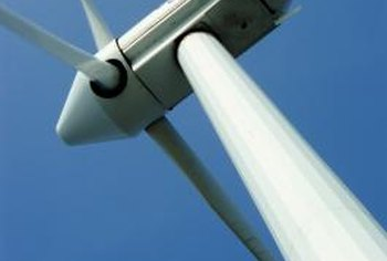 Residential wind turbines work like commercial turbines but on a smaller scale.
