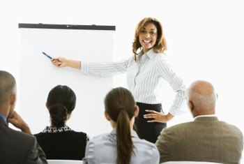 Be positive and energetic when presenting your business case.