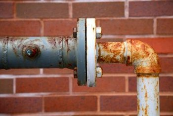 Old pipes may corrode or leak, causing damage to structures.