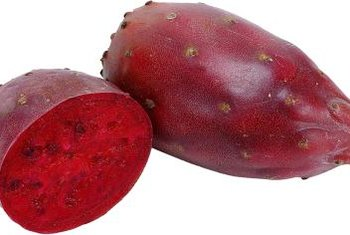Prickly pear has fleshy, edible fruits.