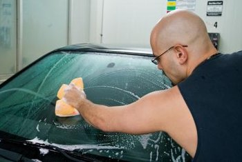 Mobile car detailers go to the customer to provide more than a car wash.