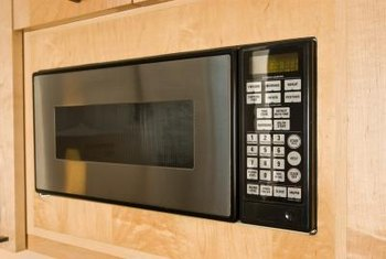 A bullt-in microwave is an attractive addition to any kitchen.