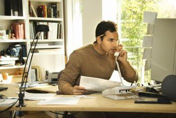 Direct sales representatives usually work from home.