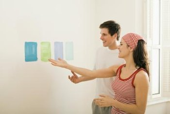 An interior decorator can help you choose the best wall color for your workplace.