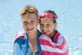A solar pool cover will help you save on heating costs.