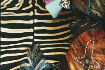Find inspiration for your one-of-a-kind furniture piece from photos of zebra stripes.