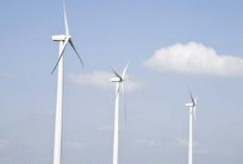 Wind technicians service and repair wind turbines.