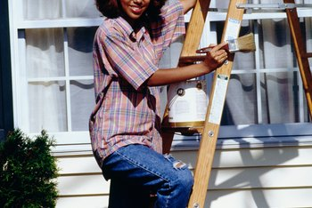 House painting is considered repair or maintenance by the IRS.