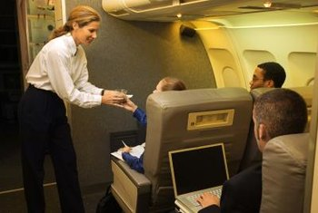 Flight attendants must become certified by the Federal Aviation Administration.