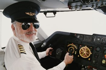 Airline pilots must meet strict requirements to transport passengers and cargo.