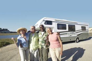 RV sales have increased over the past year, likely due to the rising number of retirees.