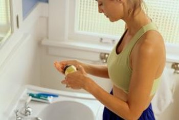 The bathroom's humid air can shorten your vitamins' useful life.