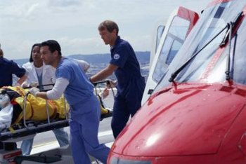 Air transports are most often used during a medical crisis.