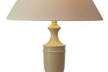 Transform a plain lampshade with color and style using a ribbon treatment.