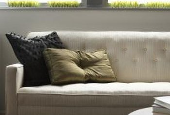 Choose a sofa with narrow arms to save space.