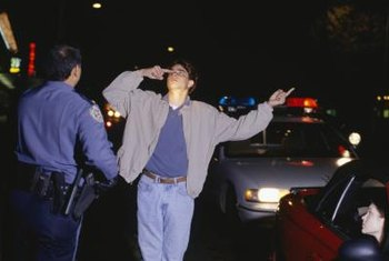 A DUI charge could result from drinking alcohol or taking controlled substances.