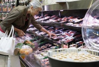 Veterinary meat inspectors must prevent adulterated food from reaching supermarkets.