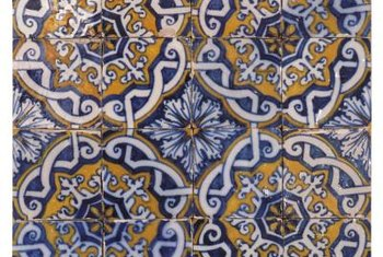 A mosaic is a decorative wall tile design.