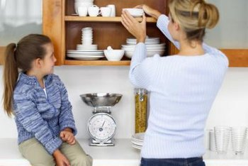 Most kitchen cabinets can be sorted and purged in less than a day.