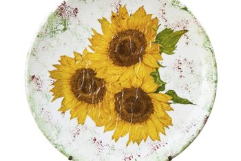 Make your own photo plate with decoupage or decal transfer methods.