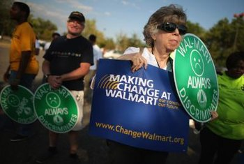 Wal-Mart has high asset turnover and a low profit margin.