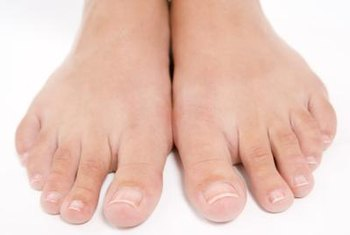 Podiatrists are trained to examine the feet and ankles.