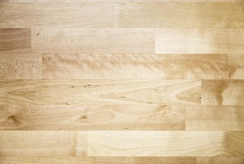 The complex grain texture of birch is unlike that of any other hardwood.