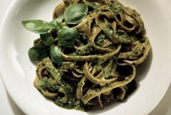 Basil is the main ingredient in pesto.