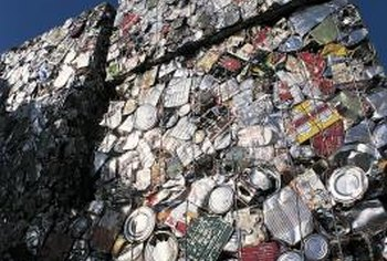 Recycling aluminum cans is good, but one can can't be recycled indefinitely.