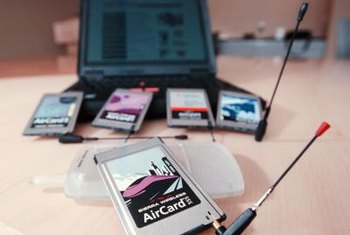 AirCards enable you to access the Internet wherever you are.