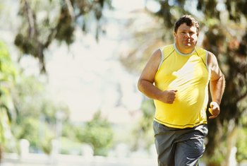 A 200-pound person burns more than 300 calories in 30 minutes of jogging.