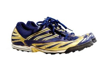 Choose workout shoes with motion control for flat feet.