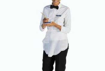 A waitress is a front-line customer service professional in the restaurant industry.