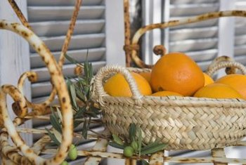 Create a variety of baskets to sell to customers online, at outdoor markets or at your own store.