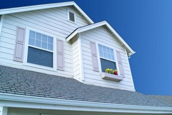 Soffits are prone to peeling and cracking paint.