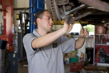 Garage liability insurance protects mechanics when customers' cars are damaged at the shop.