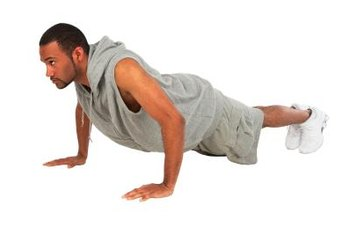 Performing pushups with the correct form is vital.