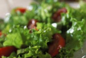 Green leafy vegetables are higher in nitrates than most other vegetables.