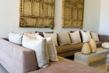 There are numerous ways to match your sectional with a sofa, and they don't have to actually match!