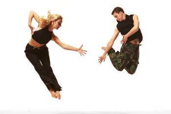 Dance incorporates both aerobic and anaerobic energy pathways.