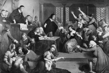 "The witch trials of ""The Crucible"" use terror to generate false confessions."