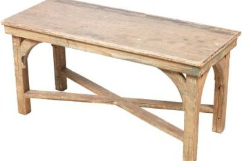 You can refurbish stained wooden tables.