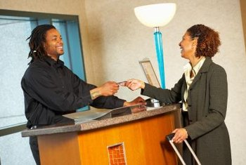 Front office leads may work in hotels.