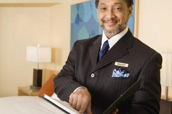A college degree can help you land a job as a hotel manager.