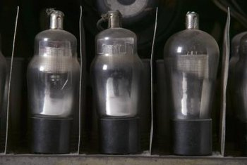 Vacuum tubes last much longer in antique radios than paper or electrolytic capacitors.