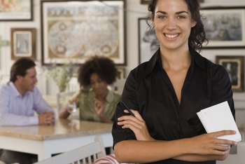 Interviewing for suitable waitress candidates requires observation to understand her demeanor.